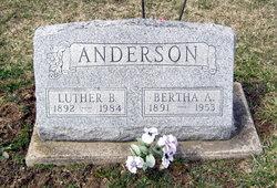 Bertha A. <i>Black</i> Anderson
