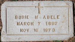 Susie Mary <i>Slavin</i> Abele