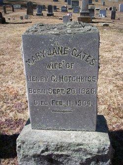 Mary Jane <i>Gates</i> Hotchkiss