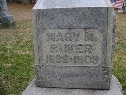 Mary Matilda <i>Riney</i> Buker