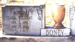 Clara P. <i>Williams</i> Boney
