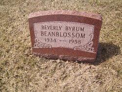 Beverly <i>Byrum</i> Beanblossom