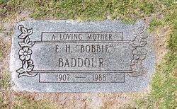 Effie Bobbie <i>Hart</i> Baddour