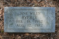 Jane Wiley Byerly