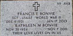 Kathleen M Bonvie