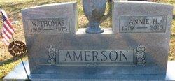 W Thomas Amerson
