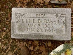Lillie b Baker
