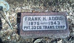 Pvt Frank H. Addis