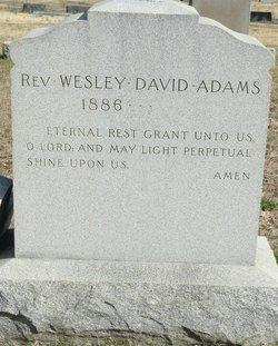 Rev Wesley David Adams