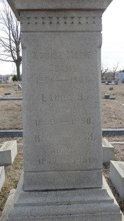 Harriette H Adams