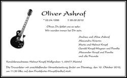 Oliver Ashraf