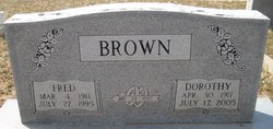 Dorothy Angeline <i>Herren</i> Brown