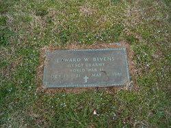 Sgt Edward Webb Bud Bivens