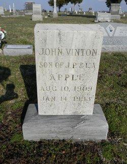 John Vinton Apple