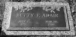 Betty F. <i>Worthington</i> Adair