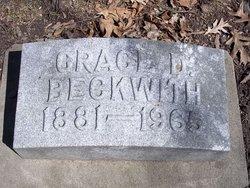 Grace <i>Dickman</i> Beckwith