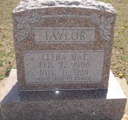 Letha Mae Taylor
