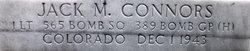1Lt Jack M. Connors