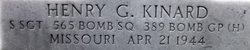 SSgt Henry G. Kinard