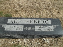 Mary A Achterberg