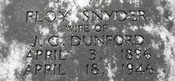 Floy <i>Snyder</i> Dunford