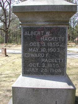 Albert W Hackett