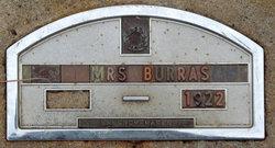 Mrs Burris