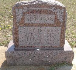 Zettie Lee <i>Taylor</i> Shelton