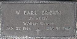 Walter Earl Brown