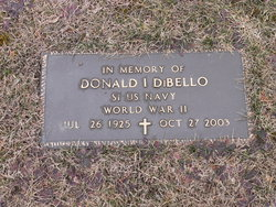 Donald Irving DiBello