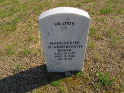 Marguerite <i>Scarborough</i> Baker