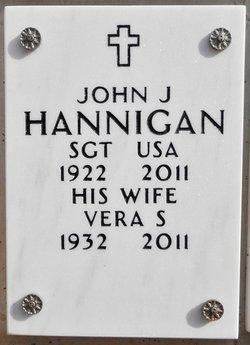 John J Hannigan