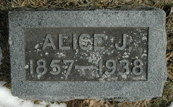 Alice J <i>Emerick</i> Weirick