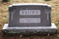 Alice Jane <i>Wolf</i> Brown