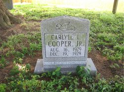 Carlyle L Cooper, Jr