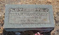 Eliza <i>Pleasant</i> Carter