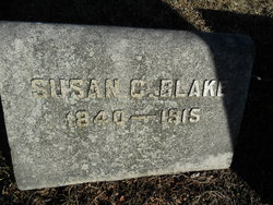 Susan C <i>Holt</i> Blake