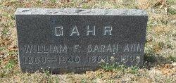 Sarah Anna <i>Lusher</i> Gahr