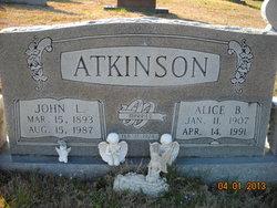 Alice Beatrice <i>Quillen</i> Atkinson