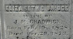 Elizabeth C. <i>Bridge</i> Chadwick