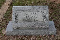 Fay Ann Brooks