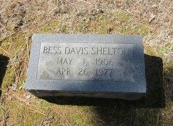 Elizabeth Louise Bess <i>Davis</i> Shelton