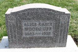 Alice Carey <i>Fisher</i> Woodruff
