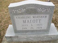 Charlene <i>Warsham</i> Malott