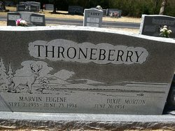 Dixie <i>Morton</i> Throneberry