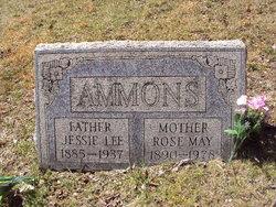 Rose May <i>Shriver</i> Ammons