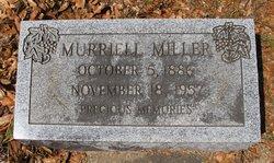 Murriell <i>Lewis</i> Miller