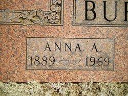 Anna A. <i>Draeger</i> Burton