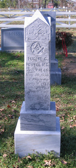 Dr Eugene Cole Powell