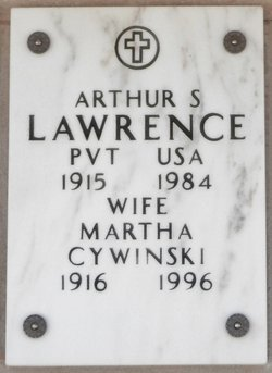 Private Arthur S Lawrence